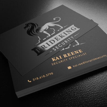 UV Business Card Printing